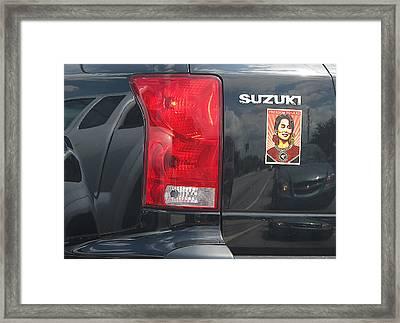 Burma Framed Print
