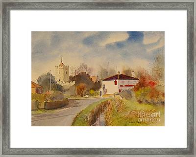 Burmarsh  Kent Uk Framed Print