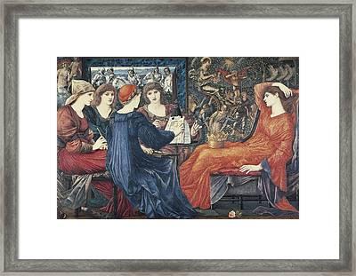 Burne-jones, Edward Coley 1833-1898 Framed Print by Everett