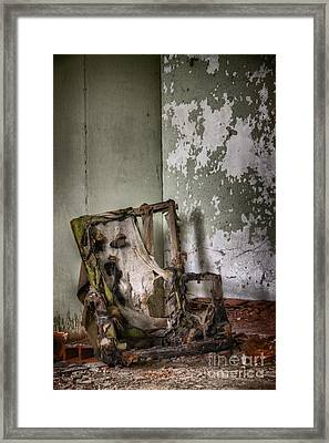 Burned Framed Print by Margie Hurwich