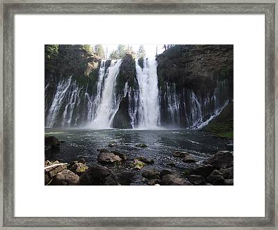 Burney Falls - The Eighth Wonder Of The World Framed Print by James Rishel