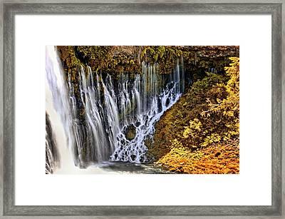 Burney Falls 2 Framed Print