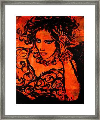 Burning Desire Framed Print