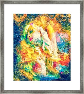 Burning Dream Framed Print by Denis Galkin