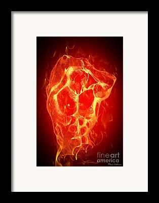 Fire Framed Prints
