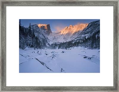 Burnishing Framed Print