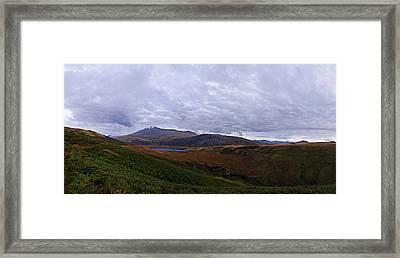 Burnmoor Tarn And Sca Fell Framed Print by Steven Garratt
