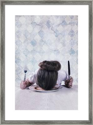 Burnout Framed Print by Joana Kruse