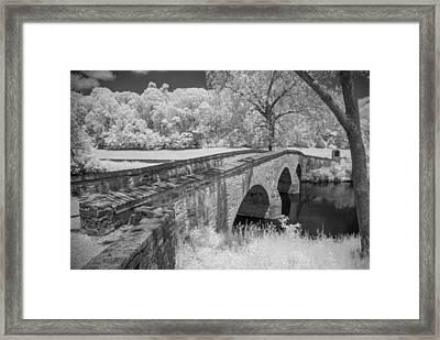 Burnside Bridge 0239 Framed Print by Guy Whiteley