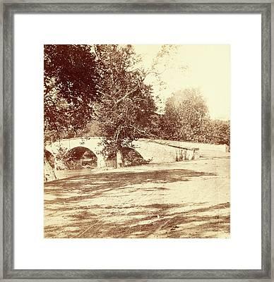 Burnside Bridge, Antietam Framed Print