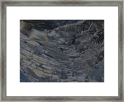 Burnt Framed Print
