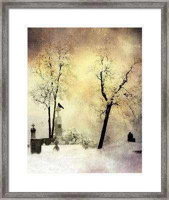 Burnt Sky Framed Print by Gothicrow Images