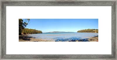 Burny Island Framed Print