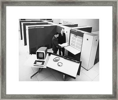 Burroughs 6500 Computer System Framed Print