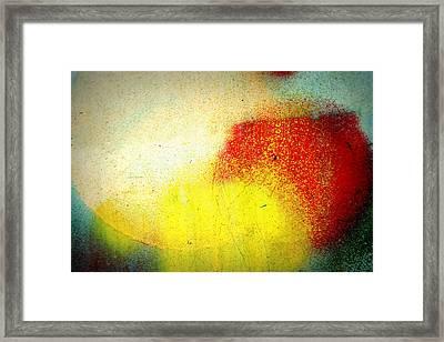 Burst Framed Print by Leanna Lomanski