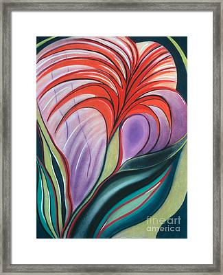 Bursting Blossoms Framed Print