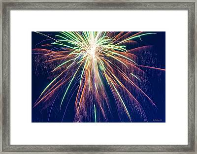 Bursting In Air Framed Print by Brian Wallace