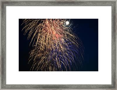 Bursting In Air Framed Print by Ronda Broatch