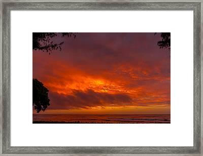 Bursting Sky Framed Print