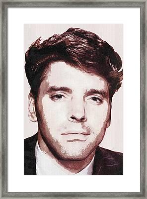Burt Lancaster In I Walk Alone Framed Print by Art Cinema Gallery