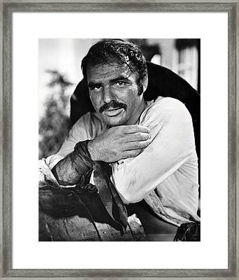 Burt Reynolds In 100 Rifles  Framed Print
