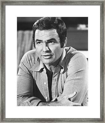 Burt Reynolds Framed Print by Silver Screen