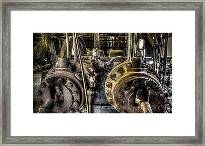 Burton Cotton Gin Bessemer Engine Framed Print