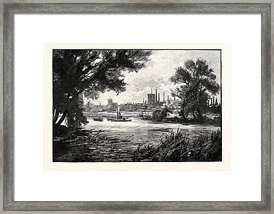Burton Upon Trent, Also Known As Burton-on-trent Or Simply Framed Print by English School
