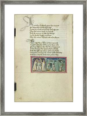Bury St Edmund's Abbey Reformed Framed Print by British Library