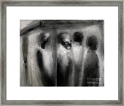 Bus Stop Framed Print by Rc Rcd