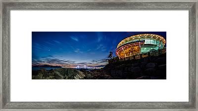 Busan Costline Framed Print by Keith Homan