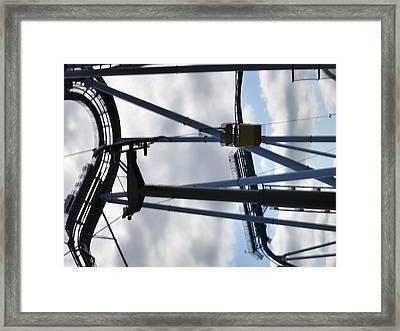 Busch Gardens - 01131 Framed Print