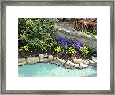 Busch Gardens - 01134 Framed Print