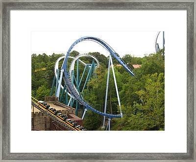 Busch Gardens - 12121 Framed Print by DC Photographer