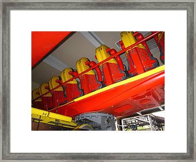 Busch Gardens - 121210 Framed Print by DC Photographer