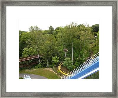 Busch Gardens - 121213 Framed Print by DC Photographer