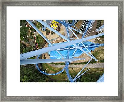 Busch Gardens - 121215 Framed Print by DC Photographer