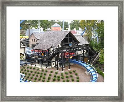 Busch Gardens - 121218 Framed Print by DC Photographer