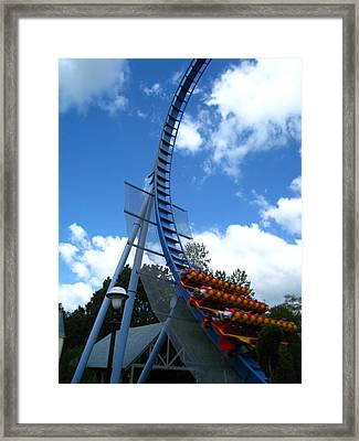 Framed Print featuring the photograph Busch Gardens - 121220 by DC Photographer