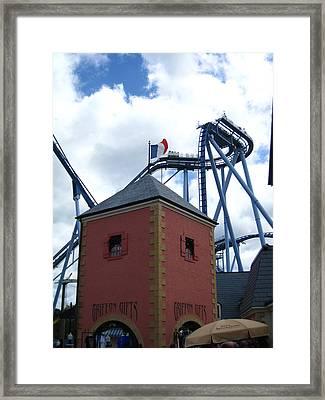 Busch Gardens - 121221 Framed Print by DC Photographer