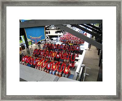 Busch Gardens - 121222 Framed Print by DC Photographer