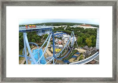 Busch Gardens - 121223 Framed Print by DC Photographer