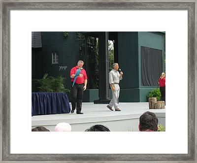 Busch Gardens - Animal Show - 121210 Framed Print by DC Photographer