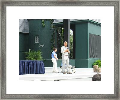 Busch Gardens - Animal Show - 121212 Framed Print by DC Photographer