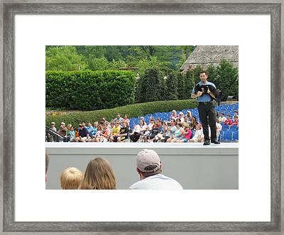 Busch Gardens - Animal Show - 121229 Framed Print by DC Photographer