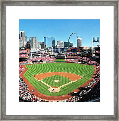 Busch Stadium Sep 29 2013 2 Framed Print