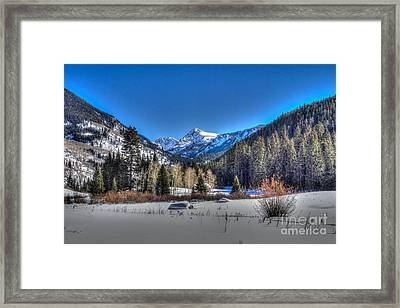 Bush Creek Valley Framed Print