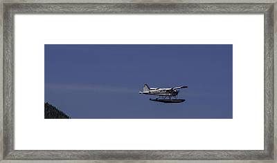 Bush Plane 001 Framed Print