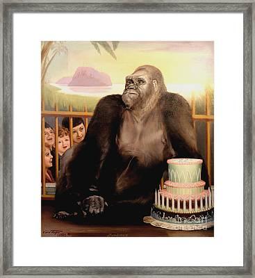 Bushman's Birthday 1950 Framed Print