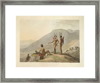 Bushmen Hottentots Framed Print by British Library